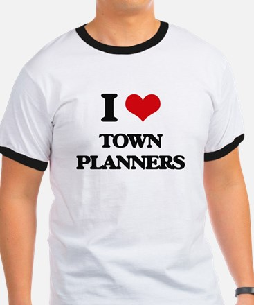 I love Town Planners T-Shirt