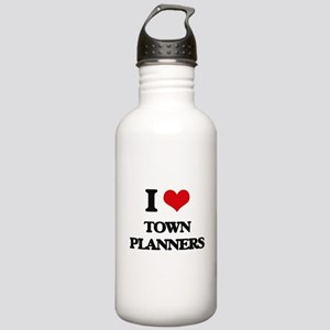 I love Town Planners Stainless Water Bottle 1.0L