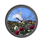 September Birthday Angel : Wall Clock