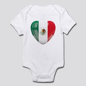 My Mexican Heart Infant Bodysuit