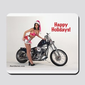 Happy Holidays! Simms Custom With Mousepad