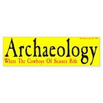 Archaeology Where the Cowboys... -BMPyel