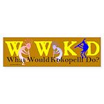 What Would Kokopelli Do? Bumper Sticker