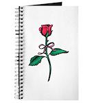 Valentine Art Red Rose Journal