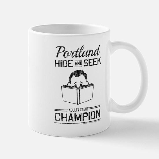 Portland Hide and Seek. Adult League Mug