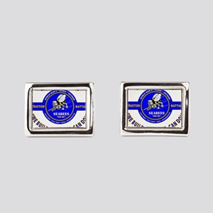 "SEABEES UNITED STATES NAVY "" Rectangular Cufflinks"