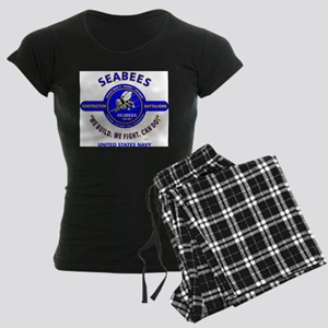"SEABEES UNITED STATES NAVY "" Women's Dark Pajamas"