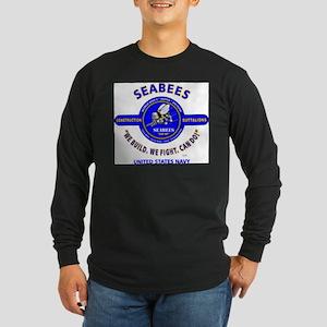 """SEABEES UNITED STATES NAVY """"WE Long Sleeve T-Shirt"""