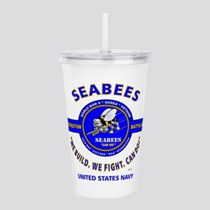 SEABEES UNITED STATES Acrylic Double-wall Tumbler