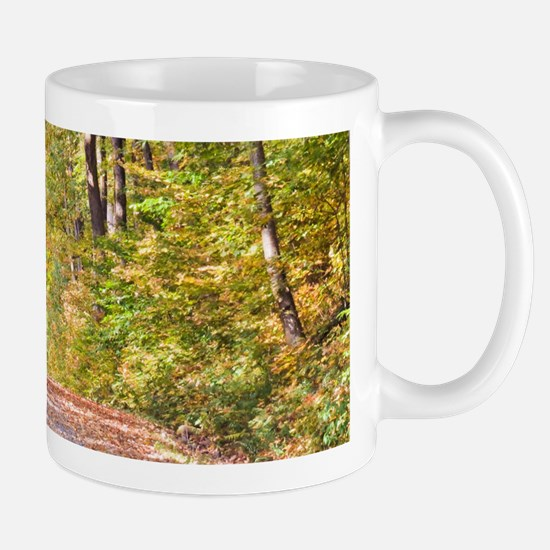Autumn Road Mugs