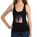 Red Roses At Sunset Racerback Tank Top