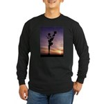Red Roses At Sunset Long Sleeve T-Shirt