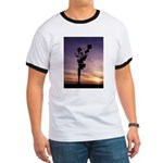 Red Roses At Sunset T-Shirt