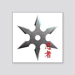 Ninja Throwing Star Sticker