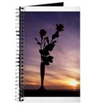 Red Roses At Sunset Journal