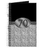 70 year old man Journals & Spiral Notebooks