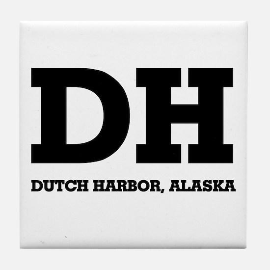 Dutch Harbor, Alaska Tile Coaster