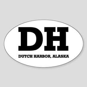 Dutch Harbor, Alaska Oval Sticker