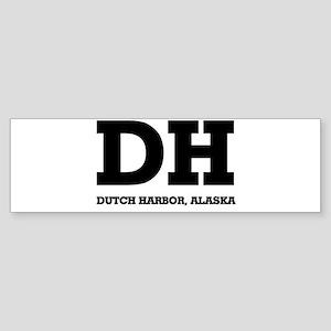 Dutch Harbor, Alaska Bumper Sticker