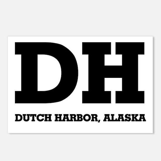 Dutch Harbor, Alaska Postcards (Package of 8)