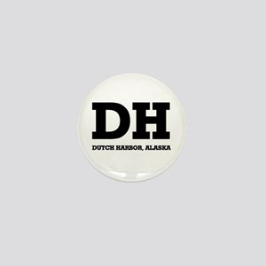 Dutch Harbor, Alaska Mini Button