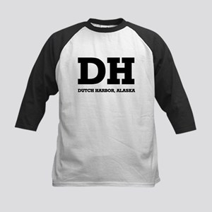 Dutch Harbor, Alaska Kids Baseball Jersey
