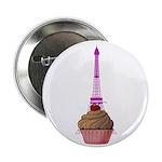 Cupcake purple Eiffel Tower 2.25