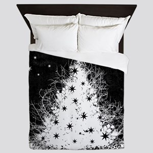 Gothic Branches Christmas Tree Queen Duvet