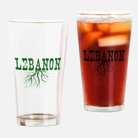 Lebanon Roots Drinking Glass