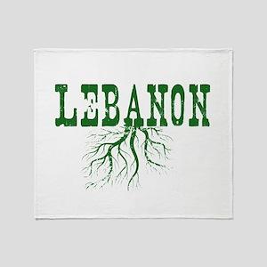 Lebanon Roots Throw Blanket
