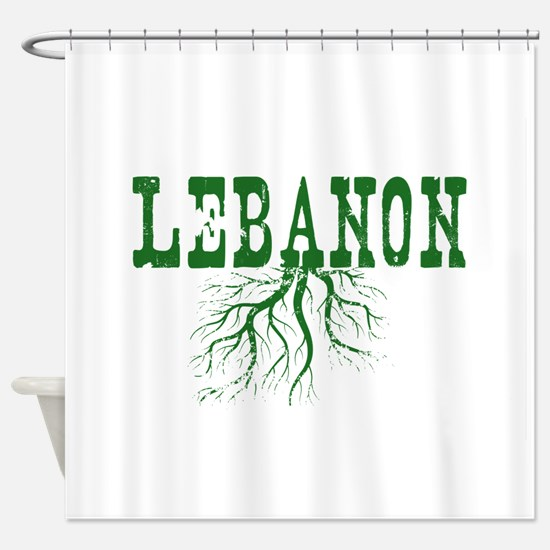 Lebanon Roots Shower Curtain