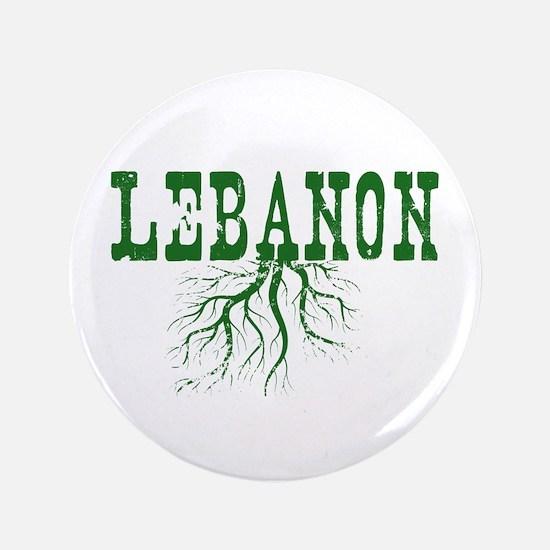 "Lebanon Roots 3.5"" Button"