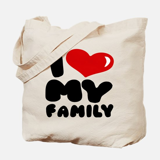 I love my Family Tote Bag