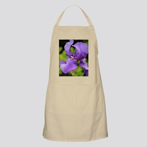 Purple Bearded Iris Apron