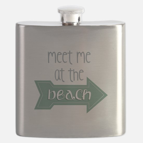 At The Beach Flask