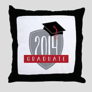 2014 Graduate Throw Pillow