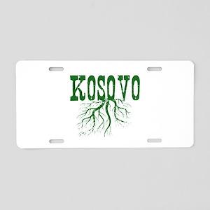 Kosovo Roots Aluminum License Plate