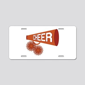 Cheer Aluminum License Plate