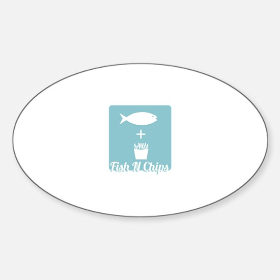 Fish N Chips Decal