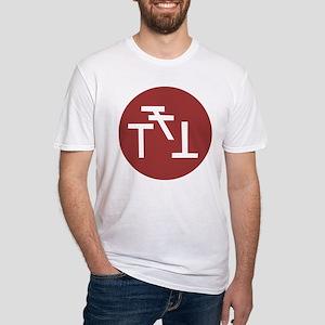 Phi Sigma Kappa Badge Fitted T-Shirt