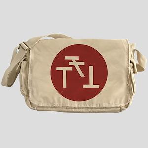 Phi Sigma Kappa Badge Messenger Bag