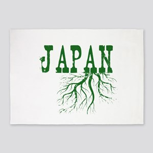 Japan Roots 5'x7'Area Rug
