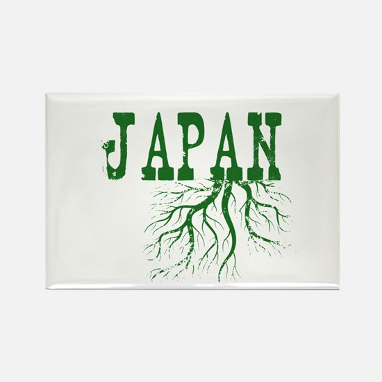 Japan Roots Rectangle Magnet