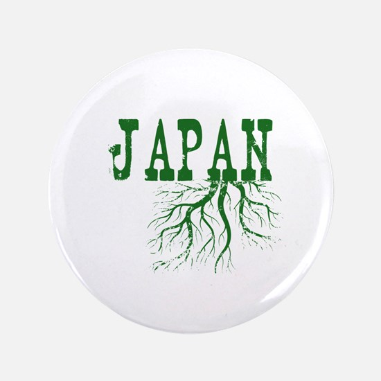 """Japan Roots 3.5"""" Button"""