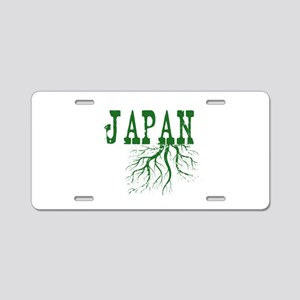 Japan Roots Aluminum License Plate