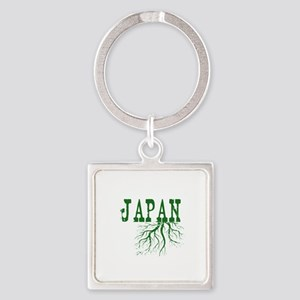 Japan Roots Square Keychain