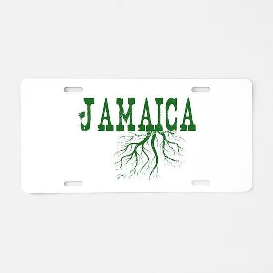 Jamaica Roots Aluminum License Plate