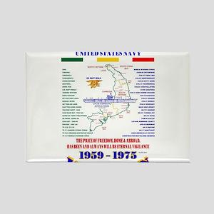VIETNAM WAR UNITED STATES NAVY UNIT & OPER Magnets