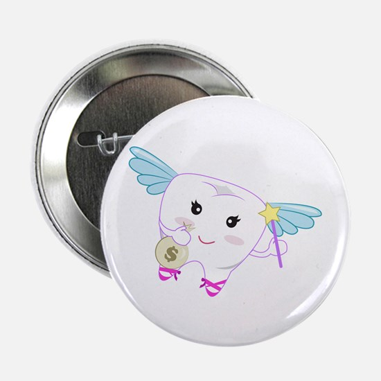 """Tooth Fairy 2.25"""" Button (10 pack)"""