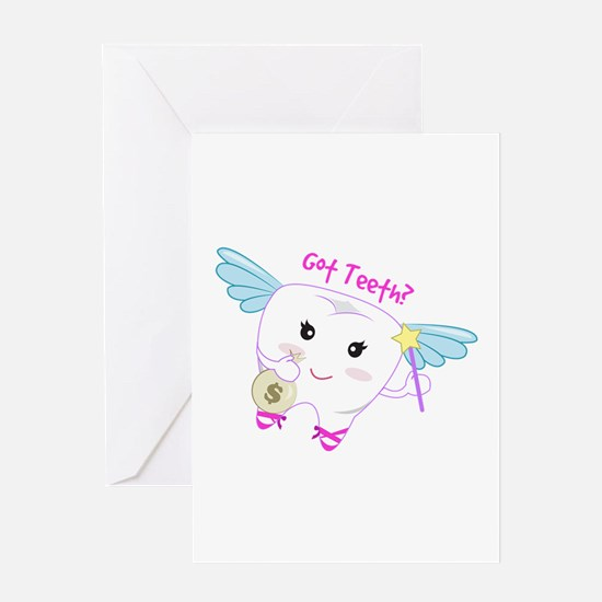 Got Teeth? Greeting Cards